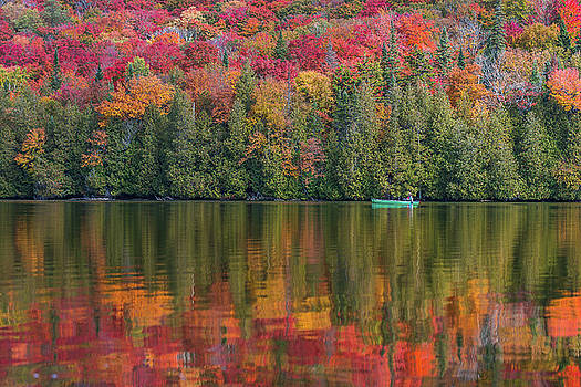 Fall in a Canoe by Tim Kirchoff