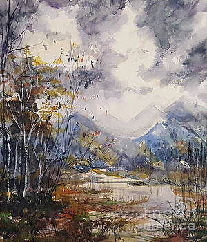 Fall in the Mountains by Reed Novotny