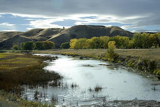 Fall in the River Bottom by Tom Buchanan