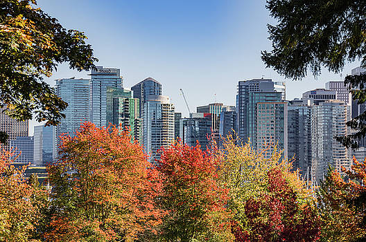 Ross G Strachan - Fall in Vancouver