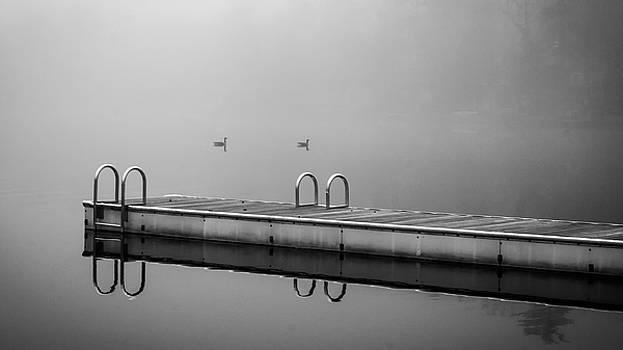 Fall Lake by Glenn DiPaola