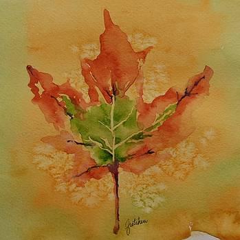 Fall Leaf by Gretchen Bjornson