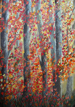 Donna Blackhall - Fall Leaves