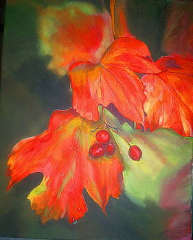 Fall Leaves by Sue Ervin