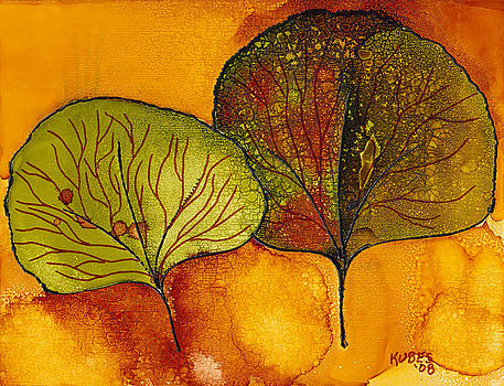 Fall Leaves  by Susan Kubes
