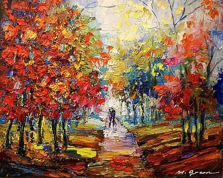 Fall  by Maya Green