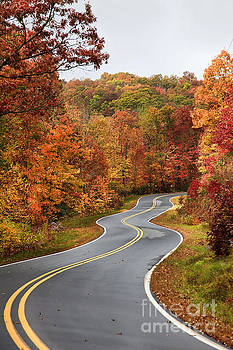Jill Lang - Fall Mountain Road