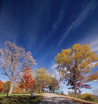 Fall Overlook by Larry Jost