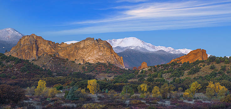 Fall Panoramic by Tim Reaves