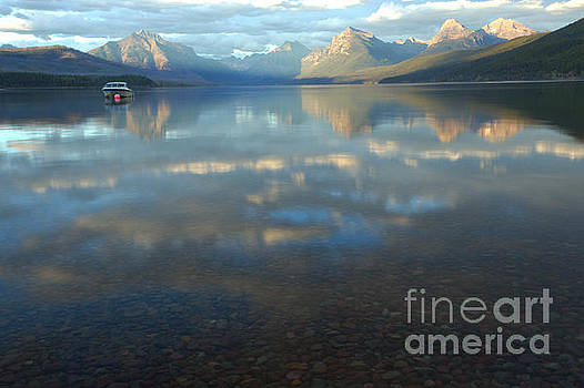 Adam Jewell - Fall Reflections In Lake McDonald