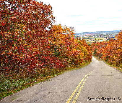 Fall Road Trip by Brenda Redford