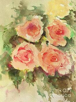 Fall Roses by Trilby Cole