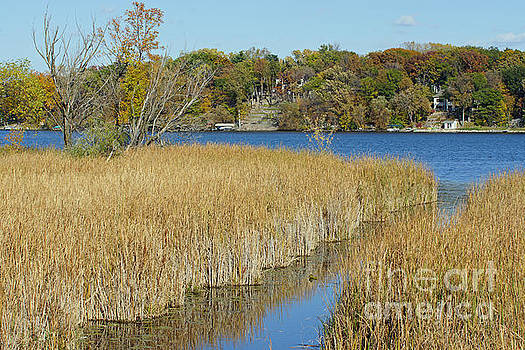 Fall Scene at Eagle Lake by Robin Clifton