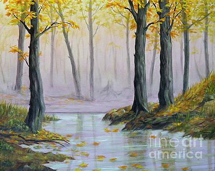 Fall Scene by Ida Eriksen