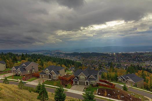 Fall Season in Happy Valley Oregon by David Gn