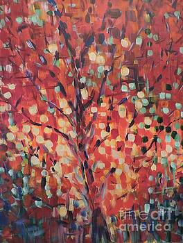 Fall Shimmer 2 by Kathy Meredith