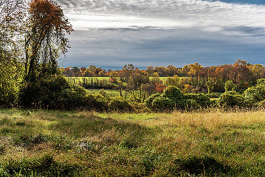 Fall Sky at White Clay by Gary E Snyder