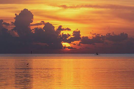 Fall Sunrise by Claudia Domenig
