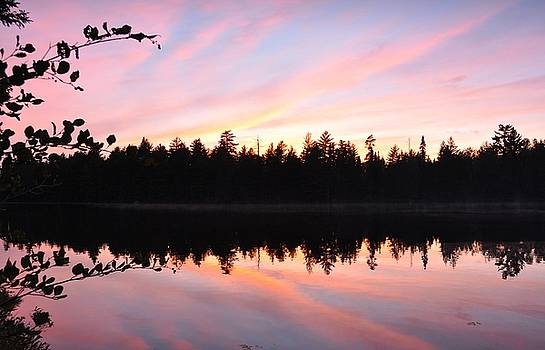 Fall Sunset by Erin Clausen