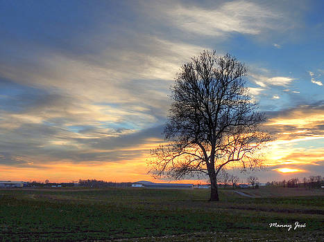 Fall Sunset Shenandoah Valley 1 by Manny Jose