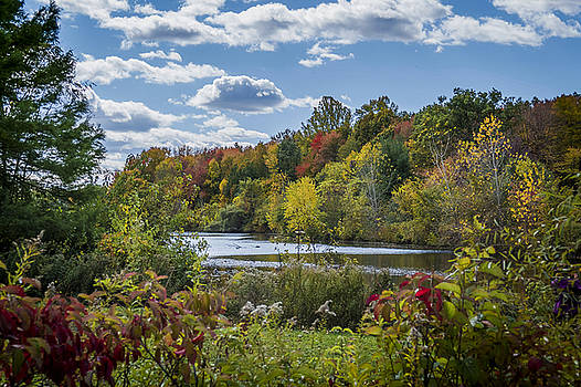 Fall Time on the Lake by Jorge Perez - BlueBeardImagery