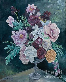 Fall vase by Jana Goode