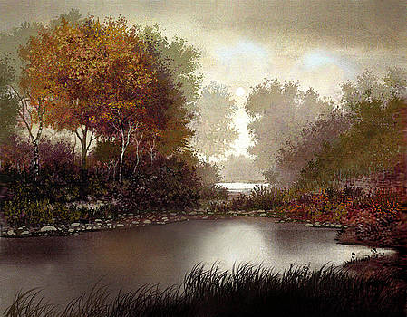 Fall Waters by Robert Foster