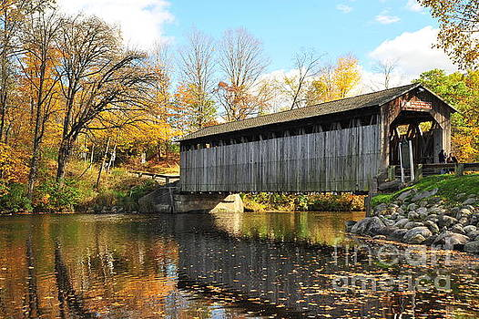 Terri Gostola - Fallasburg Covered Bridge 14
