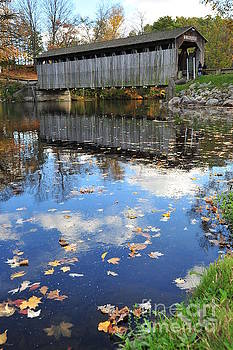 Fallasburg Covered Bridge 16 by Terri Gostola