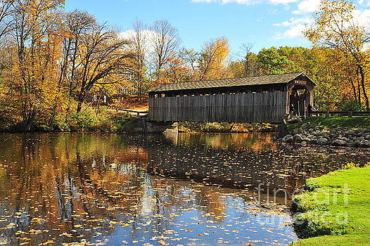 Terri Gostola - Fallasburg Covered Bridge 3
