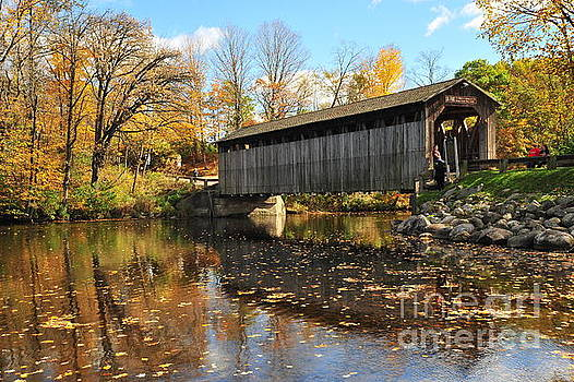 Terri Gostola - Fallasburg Covered Bridge 4