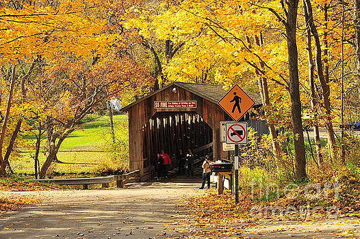 Terri Gostola - Fallasburg Covered Bridge 9