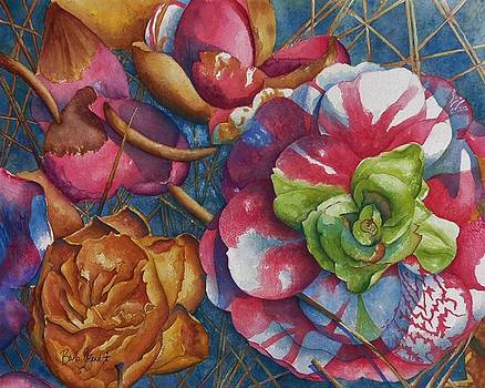 Fallen Camellia by Barb Toland