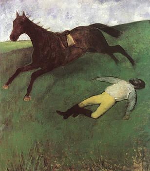 Edgar Degas - Fallen Jockey
