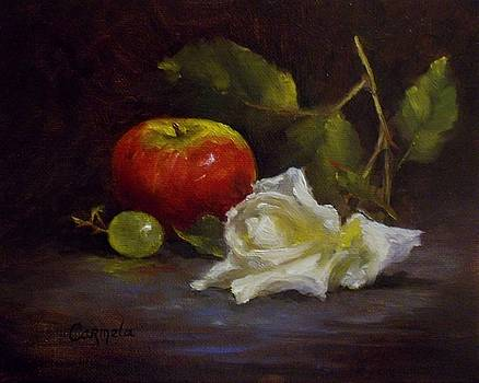 Fallen Rose by Carmela Brennan