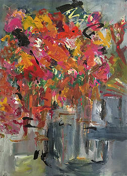 Falling Flowers by Lorraine Roth
