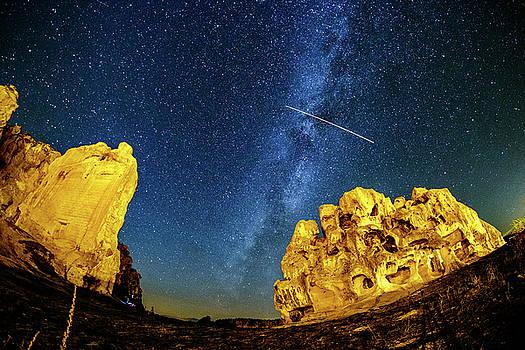Falling Star by Okan YILMAZ