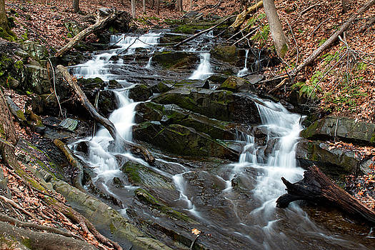 Falling Waters in February by Jeff Severson