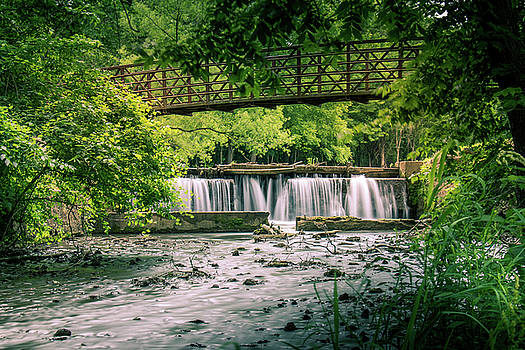 Falls at Ritter Springs by Allin Sorenson