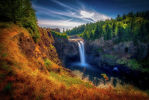 Falls from Up High by Andrew Zuber