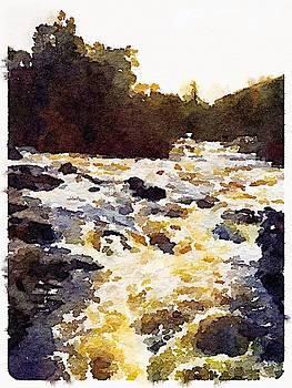 Falls of Dochart by Ralph Taylor