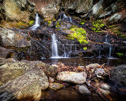 Falls Rocks Pools by Alan Raasch