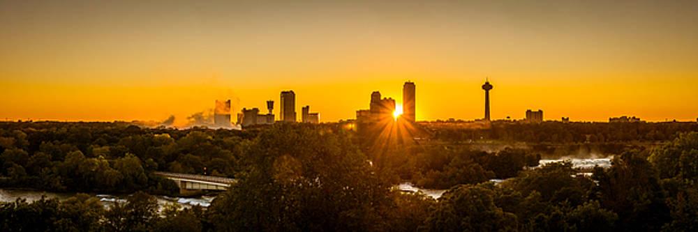 Chris Bordeleau - Falls View Sunset