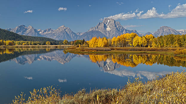 Wes and Dotty Weber - Falltime At Oxbow Bend