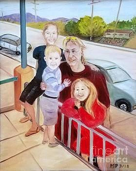 Family by Roadside by Madeleine Prochazka