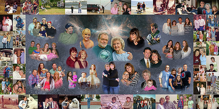 Family collage by Jim Ziemer