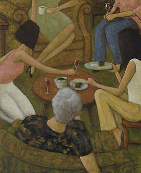 Family Gathering by Glenn Quist