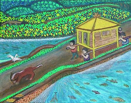 Family Hut by Lorna Maza