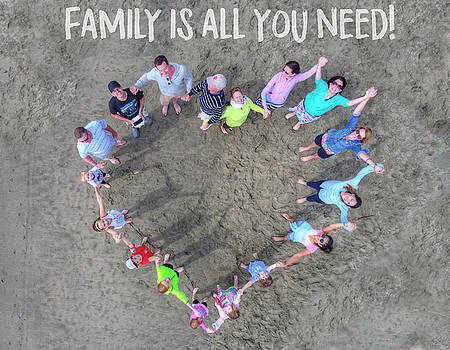 Family is all you need by Andrew Nourse
