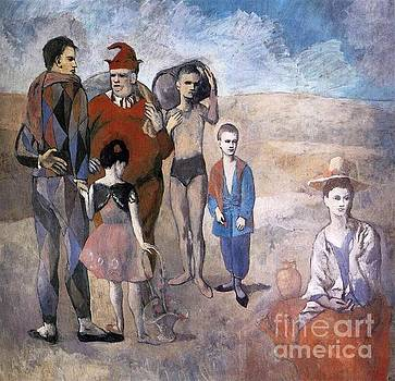 Picasso - Family Of Acrobats